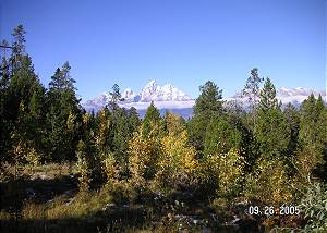 Spectacular Teton Views