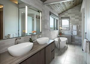 Master Bathroom - Modern Fixtures