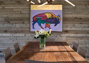 Dining Area - Contemporary Art and Seating