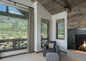 Master Bedroom - Arm Chair and Teton Views
