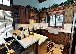 Kitchen - A Warm Welcome to the Cabin