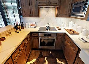 Kitchen - Bosch Range and Oven
