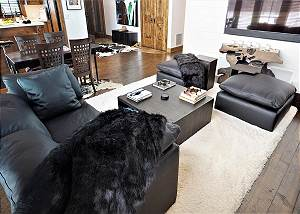 Great Room - New Sofas and Plush Throws
