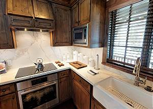 Kitchen - Range, Sink, and Counters