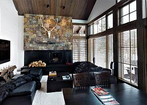 Great Room  - Sofas and Dining Table