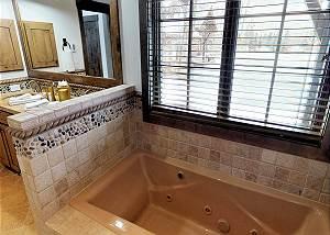 Master Bathroom - Jetted Tub
