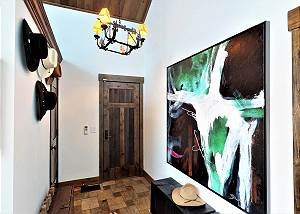 Foyer - Modern Art and Cowboy Hats