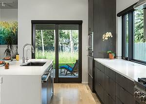 Kitchen - Counter Tops and Porch Doors