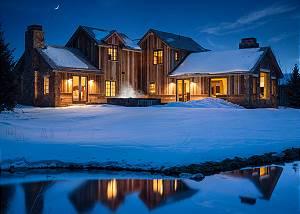 Exterior - Mountain Vista at Night