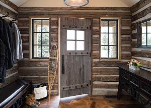Entrance - Rustic Cabin Entryway