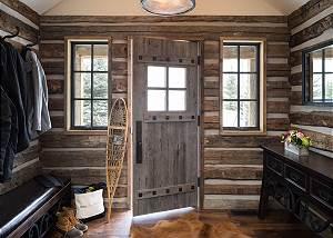 Entrance - Rustic Cabin Entryway