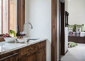 Landing - Marble Counter and Sink