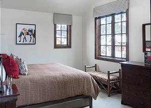 Guest Bedroom - King Bed and Windows
