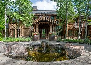 Front Entrance - Surrounded by Cottonwoods