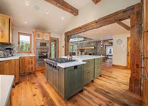 Kitchen - Log Cabin Sensibility