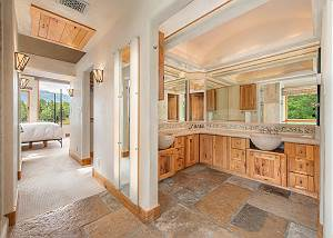 Bathroom - Dual Stone Vanities
