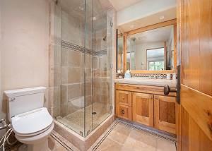 Bathroom - Glass Rainfall Shower