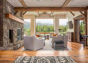 Great Room - Wood, Stone, Relaxation