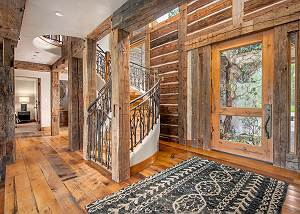 Entryway - Rustic Wooden Accents