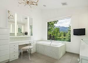 Master Bathroom - Vanity and Tub