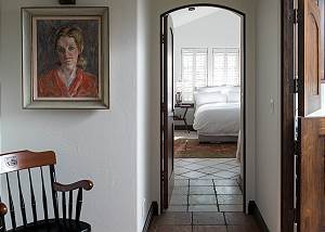 Hallway - Door to Bedroom