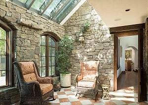 Sun Room - Ceiling Windows