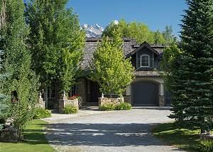 Driveway - Path to Teton Vista