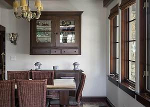 Dining Room - China Cabinet and Table