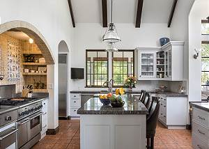 Kitchen - Countertops and Gas Range