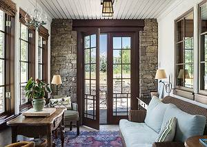 Sitting Room - Doorway to Patio