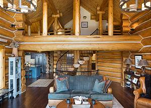Great Room - A View of the Loft