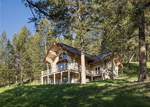 Cabin Front - In the Forest