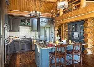 Kitchen - Marriage of Rustic and Modern
