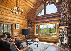 Great Room - Vaulted Windows and Ceilings