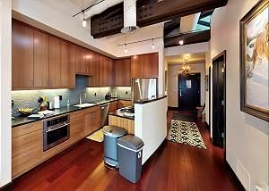 Kitchen and Hallway - Modern Sensibility