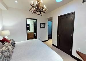 Master Bedroom 2 - Antler Chandelier