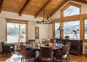 Dining Area - Comforting Natural Light