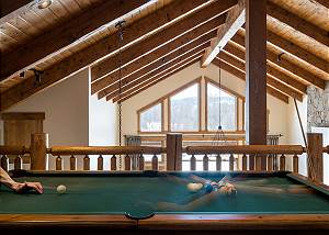 Loft - Pool Table at the Center