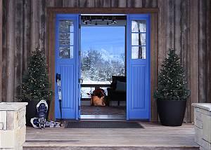 Blue Door - From Summer to Winter