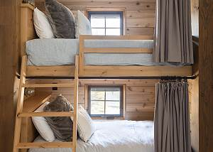 Bunk Room - Close Shot of Bunks