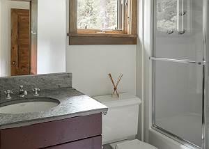 Bathroom - Stone Sink