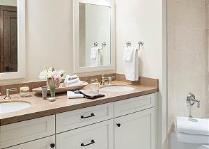 Bathroom - Convenient Dual Vanities