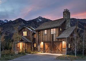 Home Exterior - Barnwood in Twilight