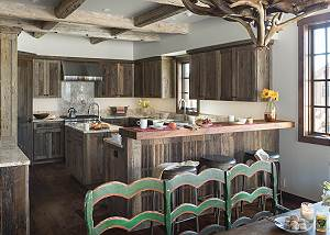 Kitchen - A Setting for Evenings Together