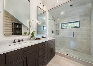 Master Bathroom - Bright and Airy