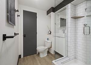 Guest Bathroom - Minimalist Perfection