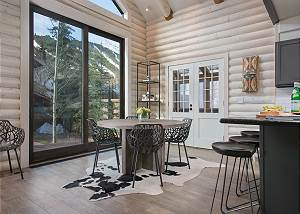 Dining Area - Cabin Roots, Modern Sensibility
