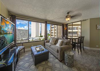 Discovery Bay 1619 1br/1ba/1pa Ocean & Mountain View - 1K1S