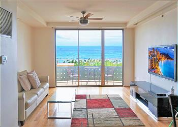 Lanikea at Waikiki 2403 2br/2ba/2pa Ocean View Suite - 1K1Q1SF
