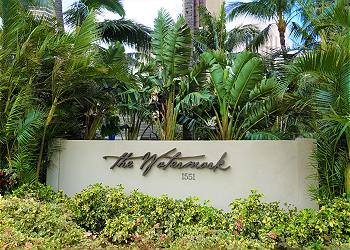 WaterMark Waikiki 1404 2bd/2ba/1pa Ocean/Harbor View - 1K1Q